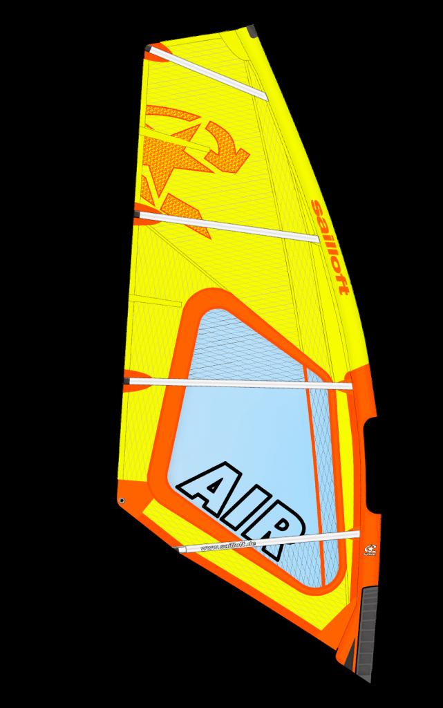 Sailloft Air 2020 Orange Gelb, Grafik