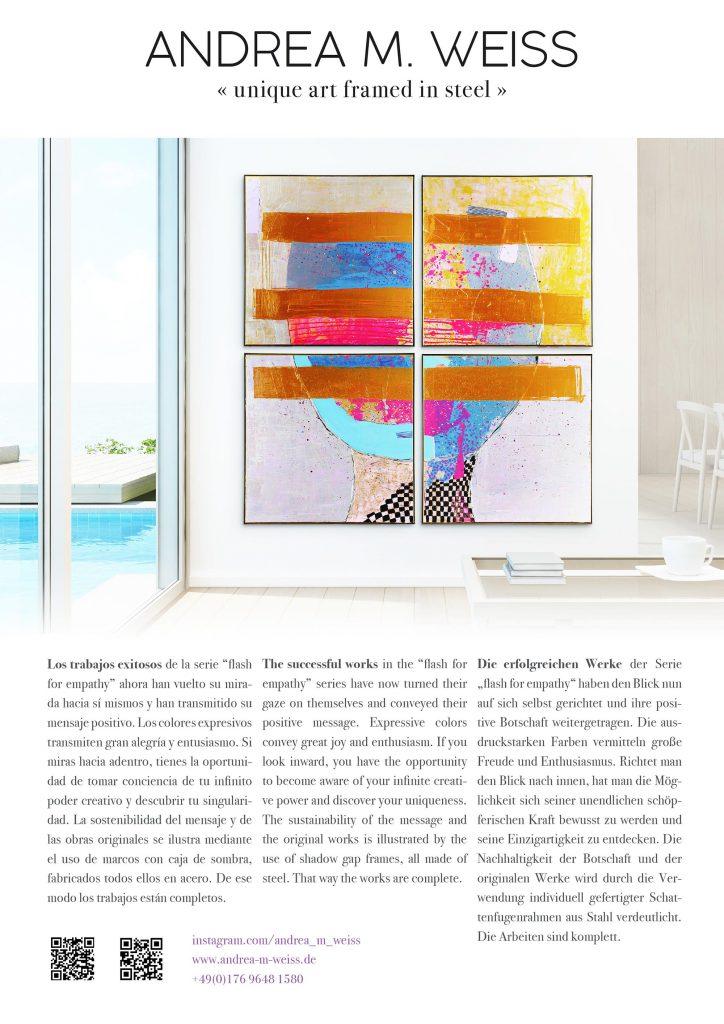 Kunst Anzeige für das Hochglanzmagazin Mr. Lifestyle